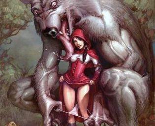Rotkäppchen und der geile Wolf