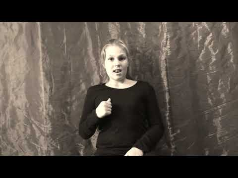 Seite an Seite-Christina Stürmer als Gebärdensprache